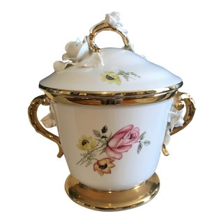 19th Century Antique Lidded Porcelain Jar