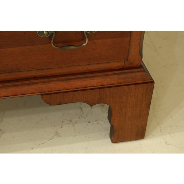2000 - 2009 Lane Williamsburg Cherry Bedroom Armoire Cabinet For Sale - Image 5 of 12
