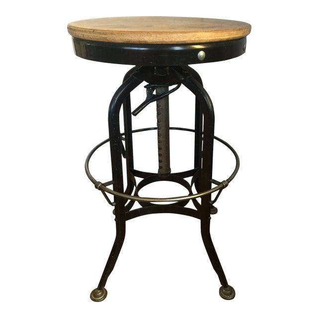 Fine 1940S Vintage Toledo Ohio Drafting Stool Chairish Cjindustries Chair Design For Home Cjindustriesco