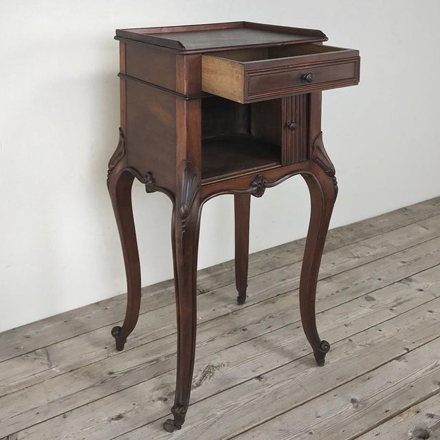 Early 20th Century Antique Country French Nightstand For Sale - Image 5 of 13