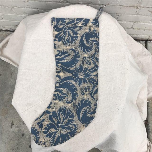 Fortuny Textile Christmas Stocking - Image 2 of 5