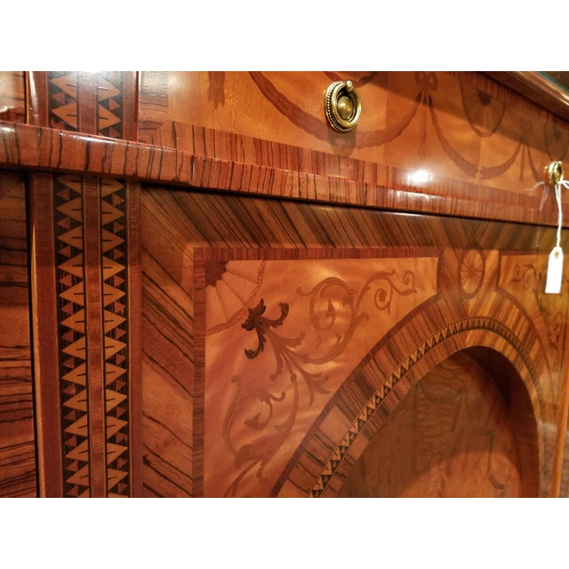 David Michael English Style Sideboard From Winston Churchill Suite of Waldorf Astoria For Sale - Image 11 of 13