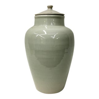 Vintage Blanc De Chine Small Temple Jar For Sale