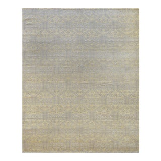 """Mansour Fine Handwoven Egyptian Rug - 8'2"""" X 9'11"""" For Sale"""