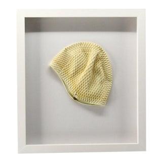 1970s Framed Swim Cap For Sale