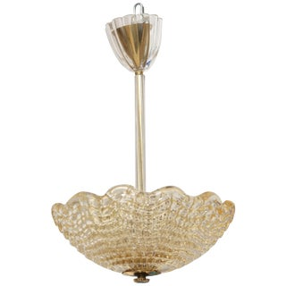 Crystal Ceiling Lamp by Carl Fagerlund for Orrefors, Swedish, 1960s For Sale