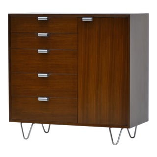 Walnut Dresser by George Nelson for Herman Miller For Sale