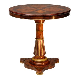 20th Century Italian Ottavio Side Table For Sale