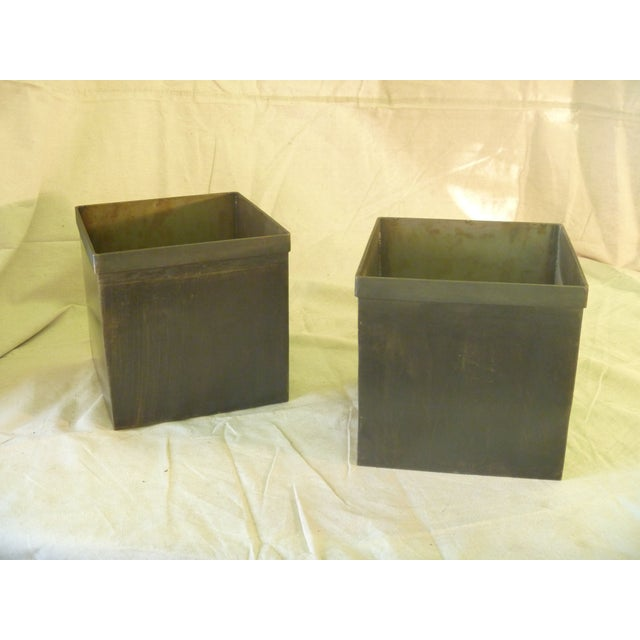 Medium Steel Storage Box - Set of 6 - Image 2 of 5