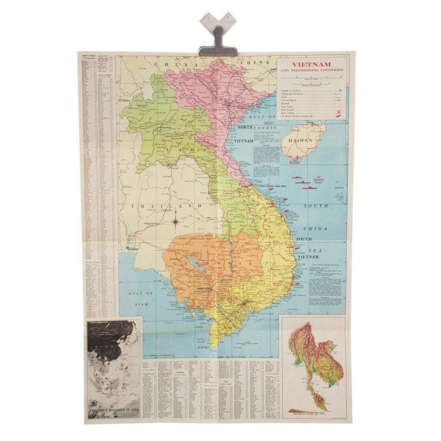 1970s Map of Vietnam - Image 1 of 6