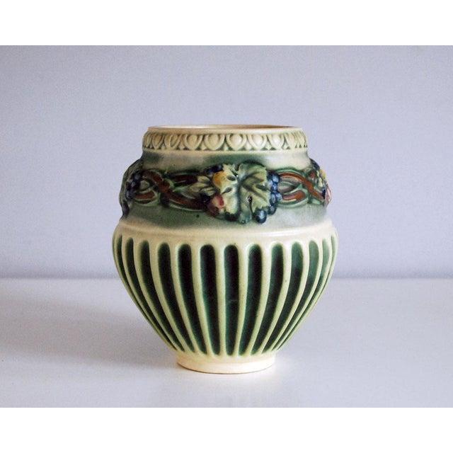 1920s Roseville Pottery Corinthian Jardeniere Planter Vase - Image 6 of 6
