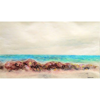 Emil Bisttram Beach 1940 For Sale