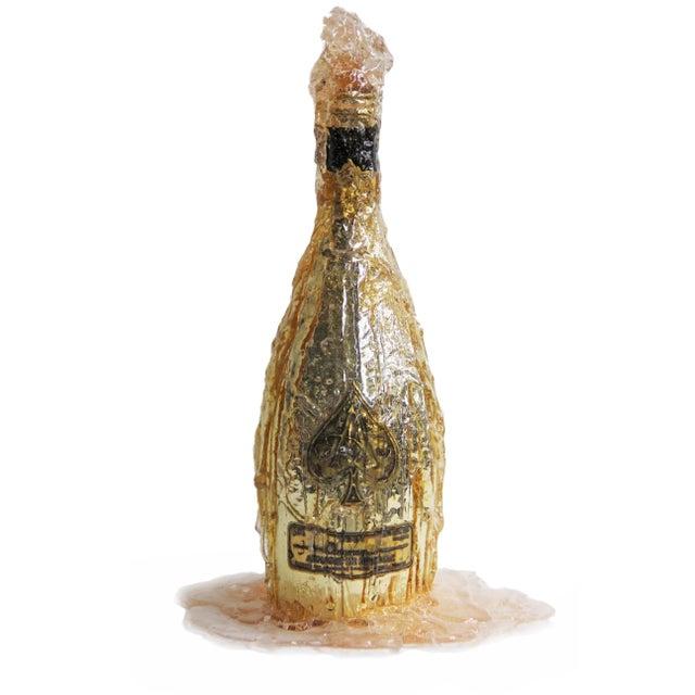 Ace of Spades Brut Champagne Bottle Decor For Sale