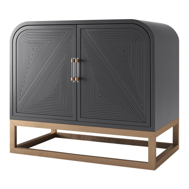 Avery Credenza - Black Iron For Sale