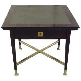 Secessionist Game Table with Synchronized Mechanical Trays For Sale