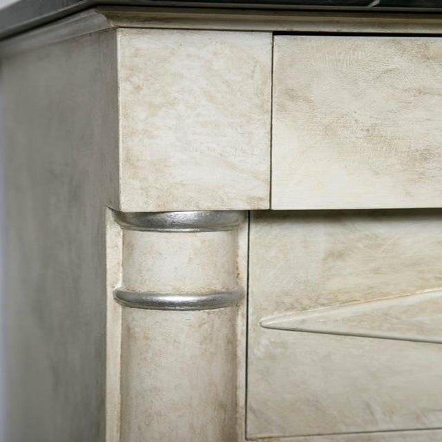 Faux Painted Marble Top Dressers- A Pair - Image 4 of 9
