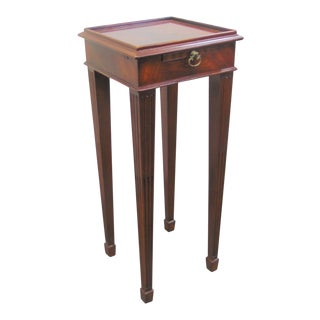 Maitland Smith Regency Mahogany Wine Stand For Sale
