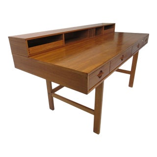 Lovig Danish Flip Top Desk for Dansk For Sale