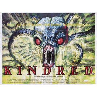 The Kindred 1987 British Quad Film Poster For Sale