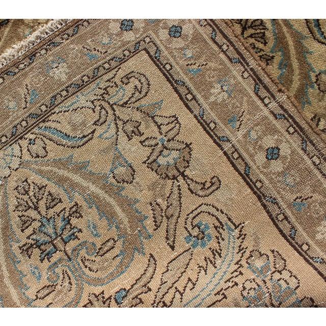 Textile 1950s Semi Antique Lilihan Runner Rug - 2′9″ × 13′ For Sale - Image 7 of 8