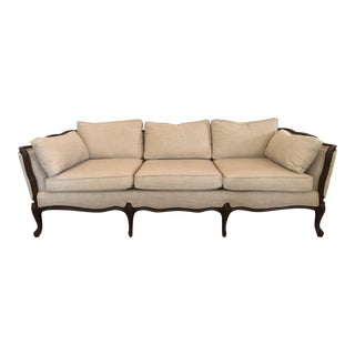 1970s Vintage French Provincial Sofa For Sale