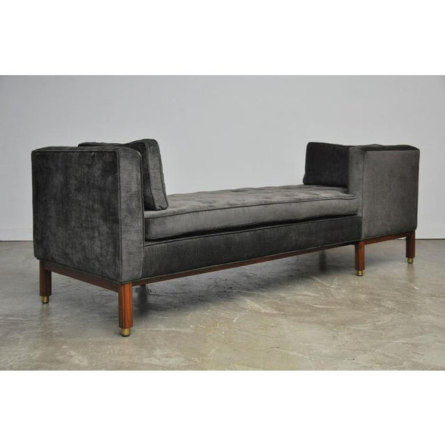 Dunbar Tete-a-tete Sofa by Edward Wormley - Image 5 of 7