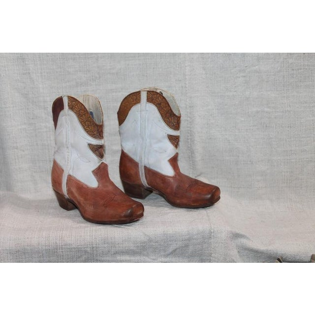 Collection of 1930s Children's Cowboy Boots - Image 10 of 10