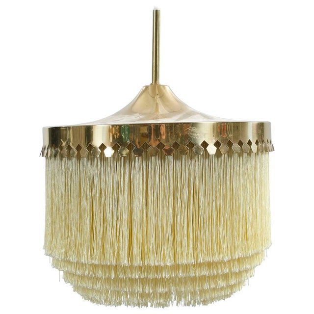 Brass Vintage ceiling lamp by Hans-Agne Jakobsson For Sale - Image 7 of 7