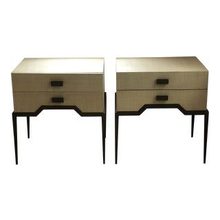 Palecek Avery Side Tables - a Pair For Sale