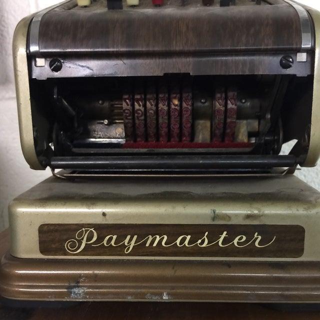Vintage Paymaster 700 Check Writer - Image 4 of 9
