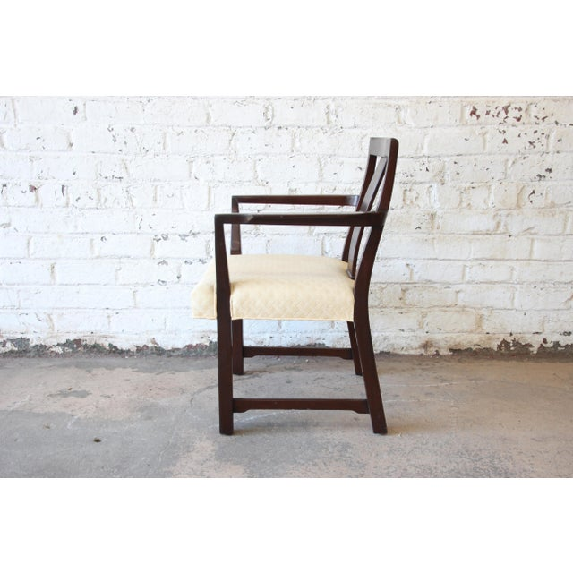 Brown Edward Wormley for Dunbar Mid-Century Modern Dining Chairs, Set of 16 For Sale - Image 8 of 13