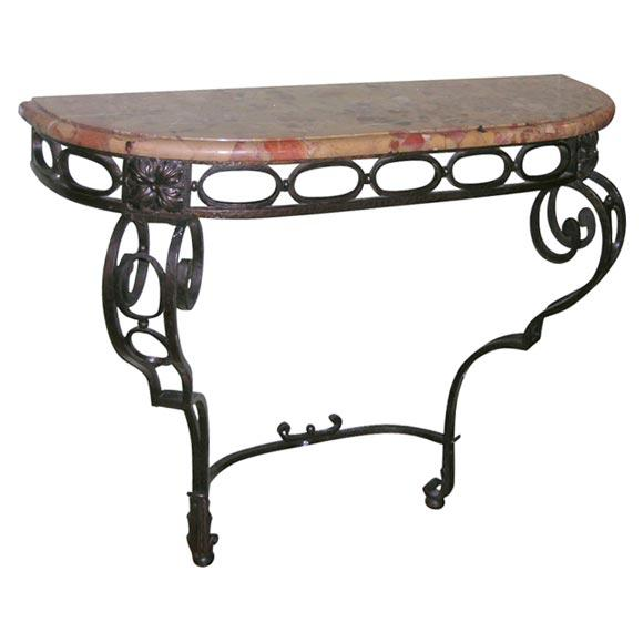 French Iron Console - Image 11 of 11