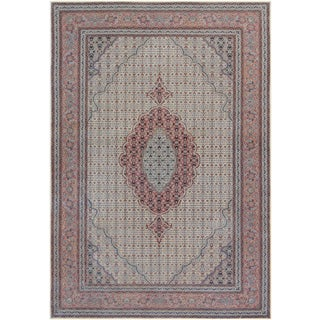 """Mansour Quality Handwoven Tabriz Rug - 6'2"""" X 9' For Sale"""