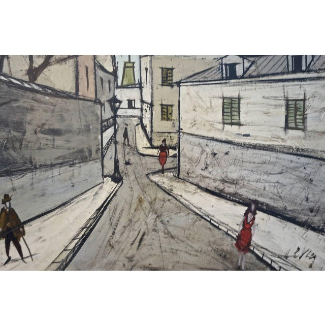 Mid 20th Century Mid-Century Oil Painting by French Artist Charles Levier For Sale - Image 5 of 11