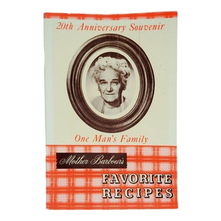 1952 Radio Show Cook Book For Sale