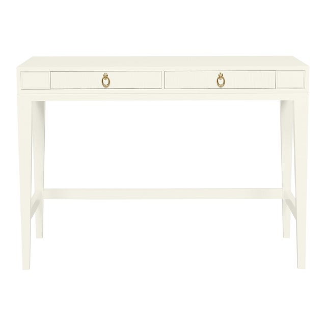 Casa Cosima Living Issa Counter Height Desk - Cloud White For Sale