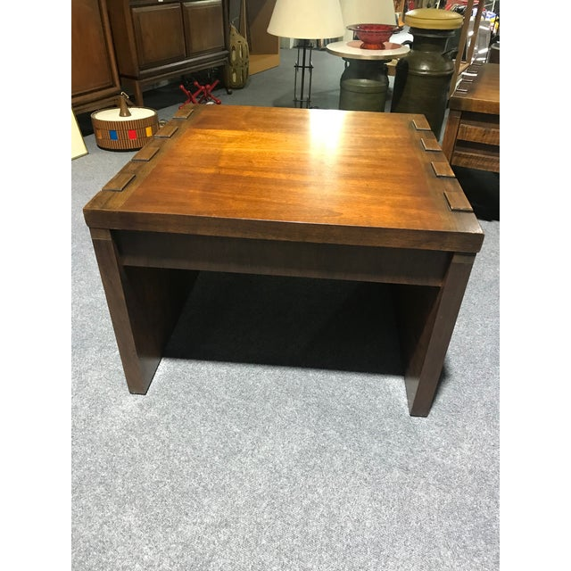 This side table is a Paul Evans design for the Lane Furniture Company. It was bought in the 70's by a man that was in the...