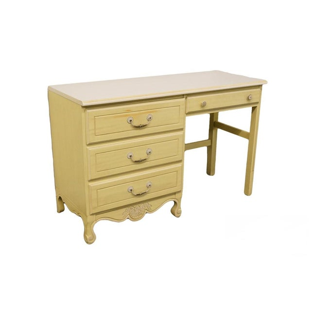 Late 20th Century Vintage American of Martinsville Cotillion Collection French Provincial Desk For Sale - Image 13 of 13