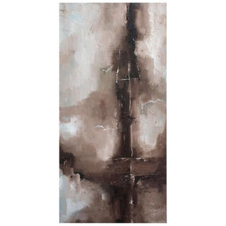 Masted Ship Abstract Painting