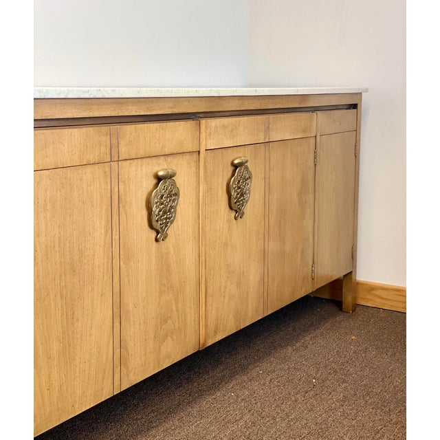 Johnson Furniture Co. 1960s Bert England for Johnson Furniture Company Credenza For Sale - Image 4 of 12