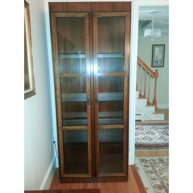 Mid-Century Modern Founders Crystal Cabinet - Image 3 of 8