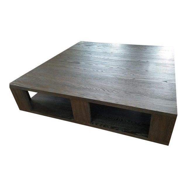 Restoration Hardware Hayes Square Coffee Table Chairish