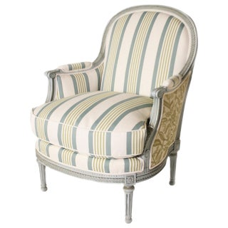 Louis XVI Fauteuil Chair, C. 1900 For Sale
