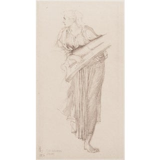 1950s Lithographic Print by Sir Edward Burne-Jones For Sale