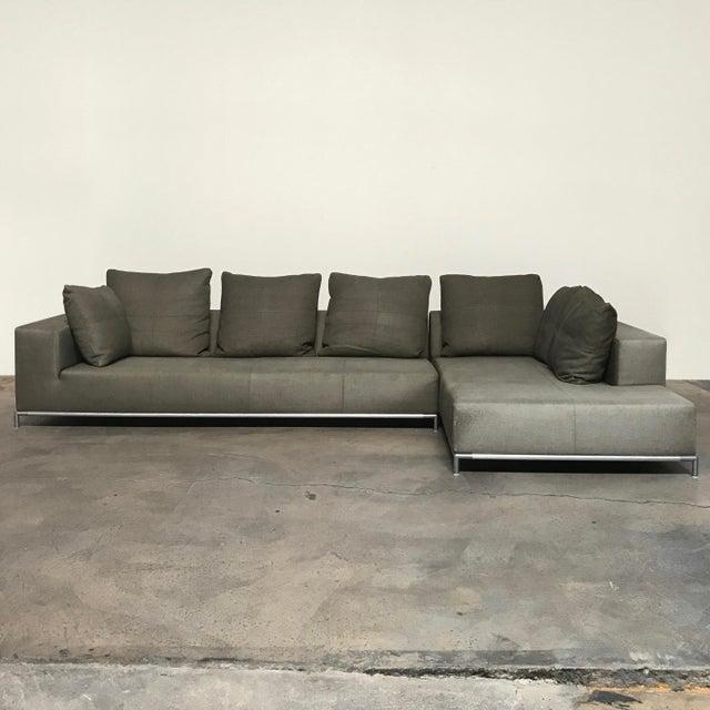 antonio citterio b b italia 39 george 39 sectional sofa chairish. Black Bedroom Furniture Sets. Home Design Ideas