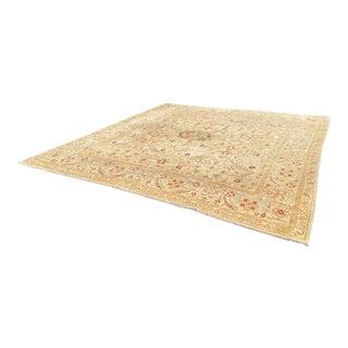 Handmade Persian Wool Rug - Squarish For Sale