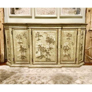 Drexel Heritage Chinoiserie Sage Flanders Console Table/Sideboard Preview