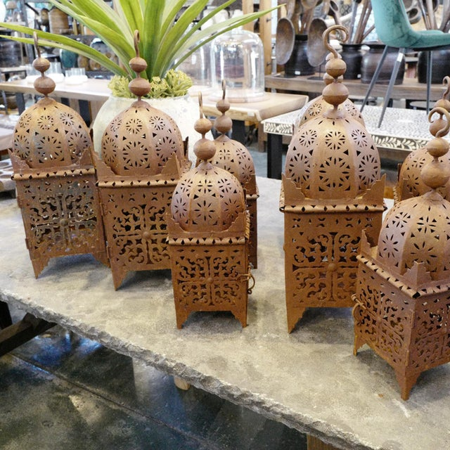 Moroccan Moroccan Kasbah Lantern For Sale - Image 3 of 4