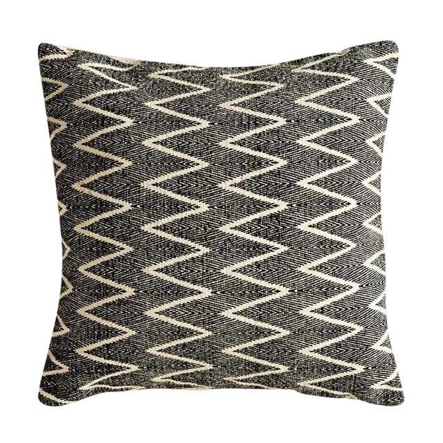 Natural & Black Printed Pillow - Image 1 of 2