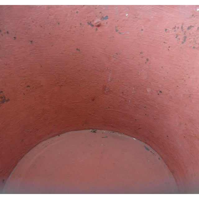 Mexican Brass and Painted Metal Bucket - Image 6 of 6
